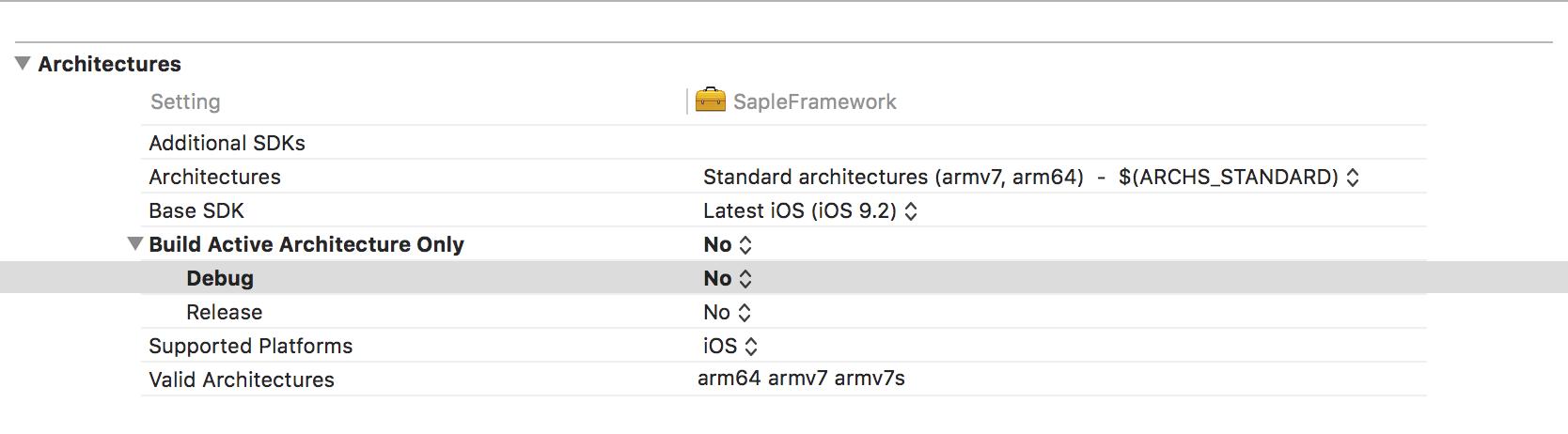 iOS universal framework - Yarik Arsenkin